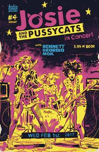 [Josie & The Pussycats #4 (Cover C Variant Michael Walsh) (Product Image)]