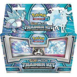 [Pokemon: Sun & Moon: Trainer Kit: Sandslash & Ninetales (Product Image)]