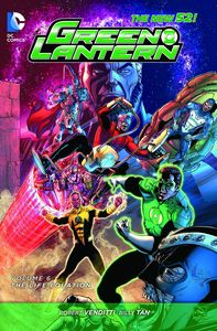 [Green Lantern: Volume 6: The Life Equation (Product Image)]