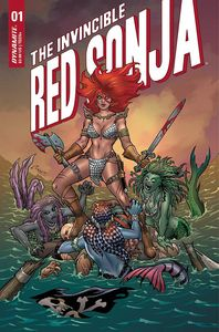 [Invincible Red Sonja #1 (Cover A Conner) (Product Image)]