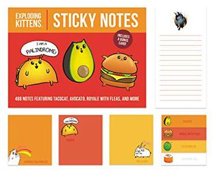 [Exploding Kittens: Sticky Notes (Product Image)]