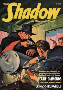 [The Shadow: Double Novel: Volume 119: Death Diamonds & Crimes Stronghold (Product Image)]