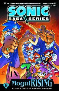 [Sonic Saga: Volume 6: Mogul Rising (Product Image)]