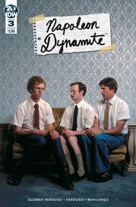[Napoleon Dynamite #3 (Cover B Photo) (Product Image)]