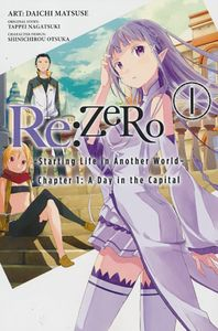 [Re: Zero: Volume 1: Starting Life In Another World (Product Image)]