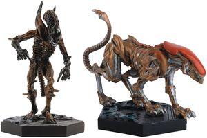[Alien: Retro Figure Collection Magazine #3 Panther & Scorpion Set (Product Image)]