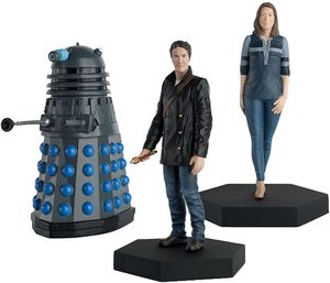 [Doctor Who Figurine Collection: Companion Set #10: 8th Doctor Leather Jacket, Liv Chenka, Dalek (Big Finish) (Product Image)]