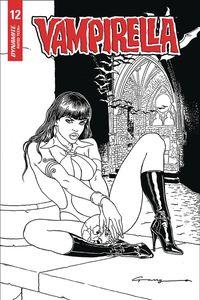 [Vampirella #12 (Canga Black & White Variant) (Product Image)]