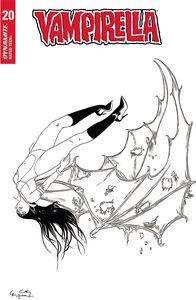 [Vampirella #20 (Gunduz Black & White Variant) (Product Image)]