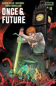 [Once & Future #18 (Cover A Mora) (Product Image)]