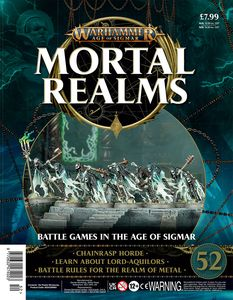 [Warhammer: Age Of Sigmar: Mortal Realms #52 (Product Image)]