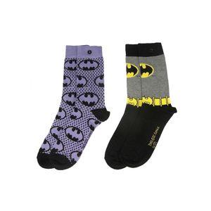 [Batman: Socks: Purple 2-Pack (Product Image)]
