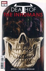 [Death Of The Inhumans #1 (Signed Edition) (Product Image)]