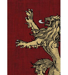 [Game Of Thrones: Card Game: Card Sleeve: House Lannister (Product Image)]