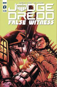 [Judge Dredd: False Witness #2 (Cover A Zama) (Product Image)]