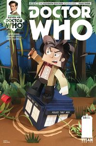 [Doctor Who: 11th Doctor: Year Three #5 (Cover C Papercraft) (Product Image)]