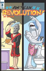 [Revolution: Aw Yeah #3 (Subscription Variant) (Product Image)]