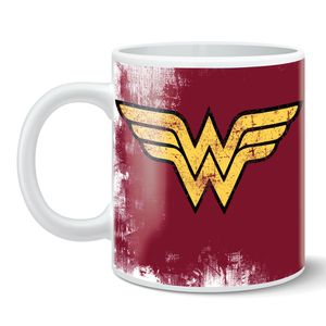 [Wonder Woman: Mug: Logo (Product Image)]