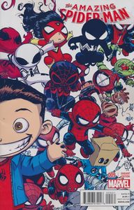[Amazing Spider-Man #9 (Skottie Young Interlocking B Variant) (Product Image)]