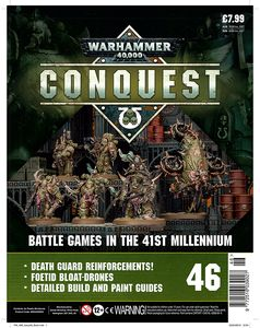 [Warhammer 40K: Conquest: Figurine Collection #46 (Product Image)]