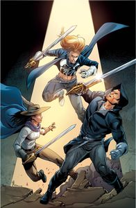 [Musketeers #4 (Cover B Atkins) (Product Image)]