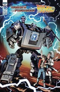[Transformers/Back To Future #1 (Cover A Juan Samu) (Product Image)]