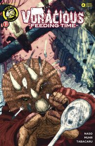 [Voracious: Feeding Time #4 (Cover B Kitchen Utensil Attack) (Product Image)]