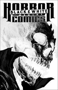 [The cover for Horror Comics: Black & White #1]