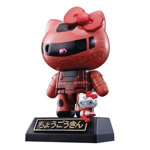 [Hello Kitty: Chogokin Diecast Gundam: Chars Zaku II Colour Version (Product Image)]
