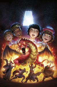 [Stranger Things: D&D Crossover #2 (Cover D Dunbar) (Product Image)]
