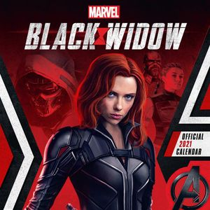 [Black Widow Movie: 2021 Square Wall Calendar (Product Image)]