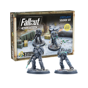 [Fallout: Wasteland Warfare: Enclave: Soldier Set (Product Image)]