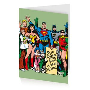 [DC: Greeting Card: Retro (Product Image)]