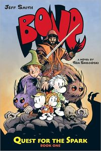 [Bone: Quest For The Spark: Volume 1 (Hardcover) (Product Image)]