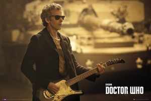 [Doctor Who: Poster: Guitar Landscape (Product Image)]