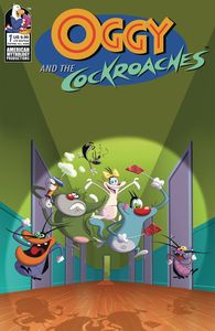 [Oggy & The Cockroaches #1 (Cover C Limited Edition Animation Cel) (Product Image)]