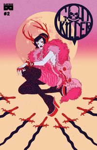[The cover for Godkiller: Tomorrows Ashes #2 (Cover A Wieszcyk)]