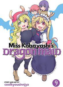 [Miss Kobayashi's Dragon Maid: Volume 9 (Product Image)]