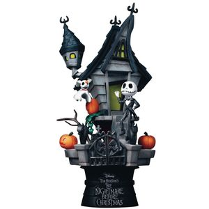 [Nightmare Before Christmas: D-Stage Diorama PVC Statue: Jack's Haunted House (Product Image)]