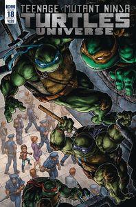 [Teenage Mutant Ninja Turtles Universe #18 (Cover A Williams Ii) (Product Image)]