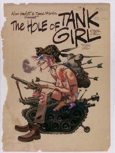[The Hole Of Tank Girl (Hardcover - Titan Edition) (Product Image)]