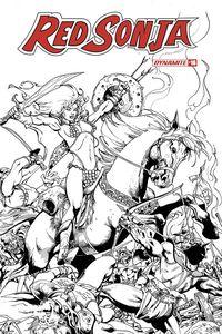 [Red Sonja #16 (Castro B&W Bonus Variant) (Product Image)]