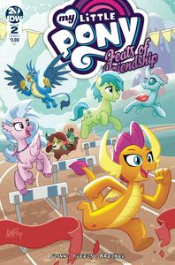[My Little Pony: Feats Of Friendship #2 (Cover A Fleecs) (Product Image)]