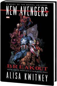 [New Avengers: Breakout Prose (Hardcover - Novel) (Product Image)]