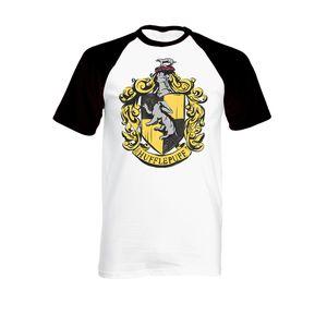 [Harry Potter: T-Shirt: Hufflepuff House Crest (Product Image)]