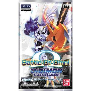 [Digimon: Card Game Booster: Battle Of Omni (Product Image)]