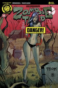 [Zombie Tramp Ongoing #34 (Cover F Trom Risque) (Product Image)]
