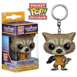[Guardians Of The Galaxy: Pocket Pop! Vinyl Keychain: Rocket Raccoon (Product Image)]