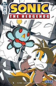 [Sonic The Hedgehog #21 (Cover A Hammerstrom) (Product Image)]