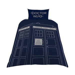 [Doctor Who: Single Duvet Set: Classic TARDIS (Product Image)]